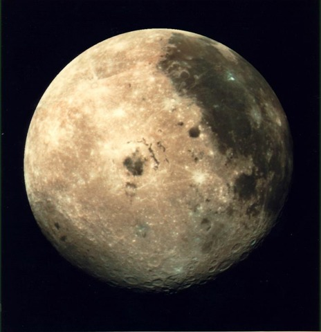 TV transmission from moon