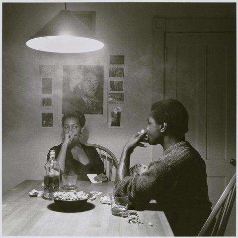 Untitled (Man Smoking/Malcom X)