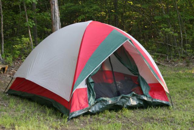 Yo acampaba en montaña Fuerte.
