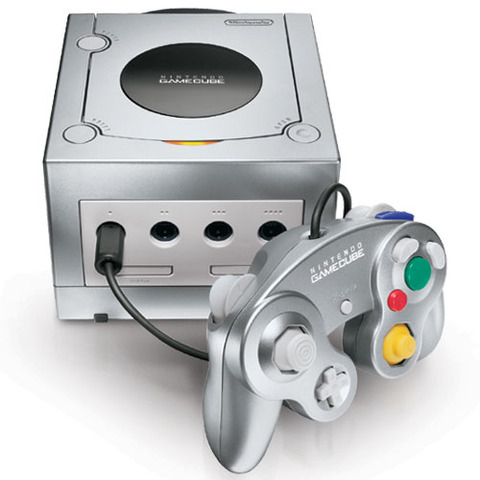 Yo jugaba mi Gamecube.