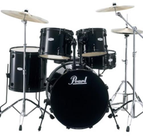Yo practicaba mis tambores.