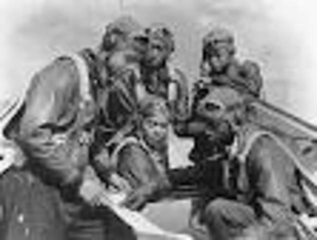 The U.S. Army creates the Tuskegee Air Squadron
