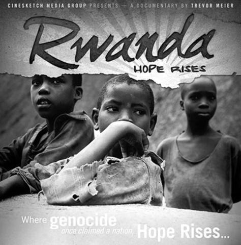 The French establish a safe zone in the southwest corner of Rwanda.