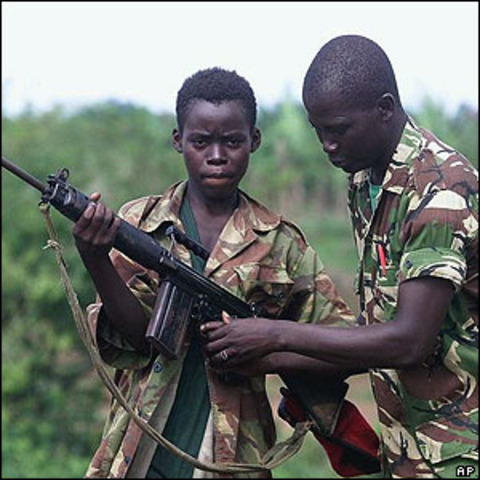 Hutu extremists begin killing their political opponents.