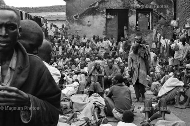 Approximately 250,000 people, mostly Tutsi, flee to neighboring Tanzania
