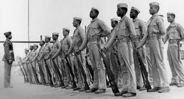 The U.S. Marine Corps accepts African American men