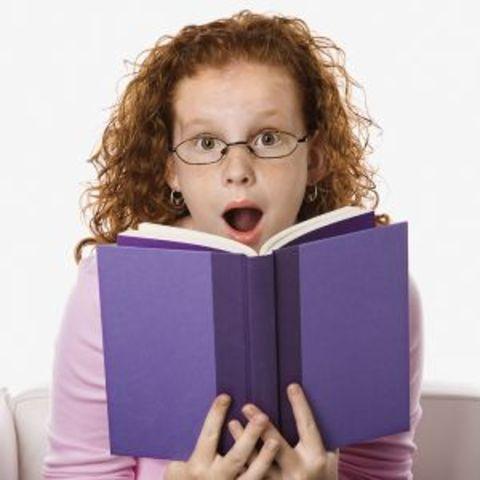 Cuando yo tenía siete años, yo me gustaba leer libros.
