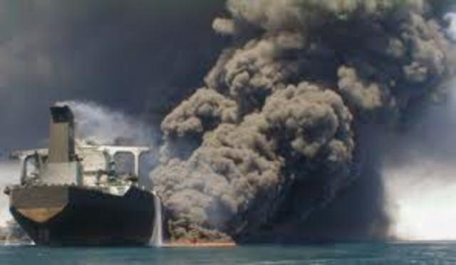 The French oil tanker Limburg is bombed off Yemen.
