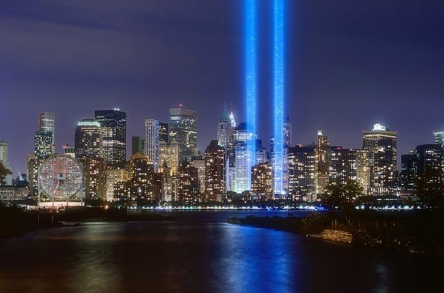 U.S. people throughout the nation take time to honor the fallen of September 11, 2001