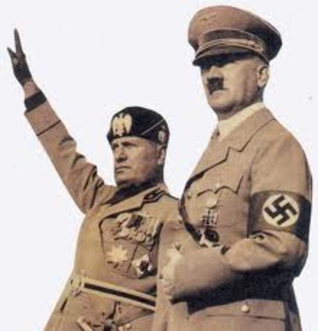 Entrevista Hitler - Mussolini