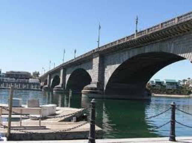 London Bridge Brought to the US