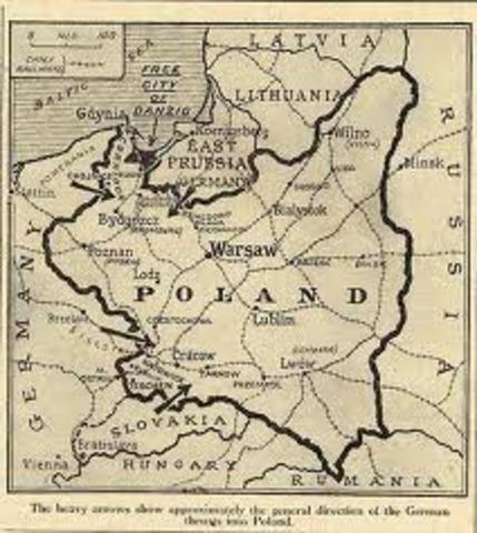 Nazi troops invade Poland