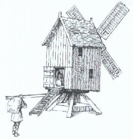 The Windmill Medieval era Technology