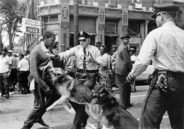 African American Attacks in Birmingham, Alabama