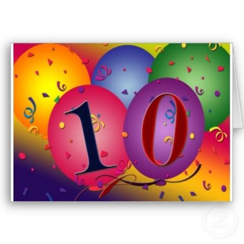10th B Day
