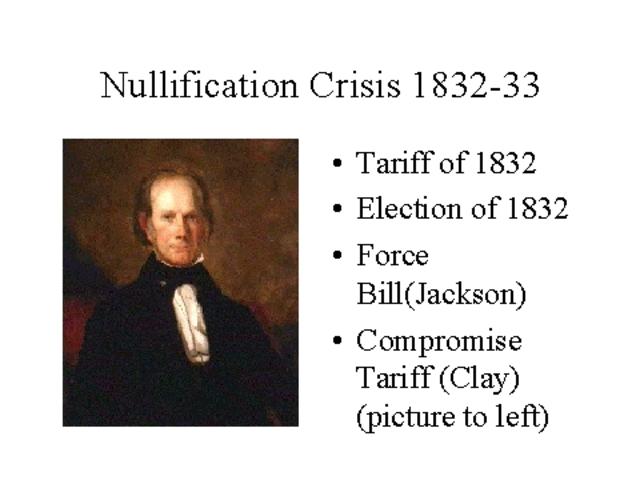Nullificaton Crisis