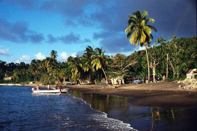 Caribs lose control of the island!