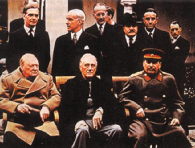 Conferencias de Yalta y Postdam