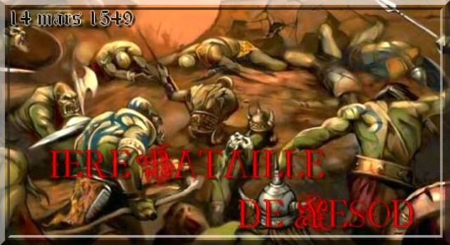 1ere Bataille de Yesod.