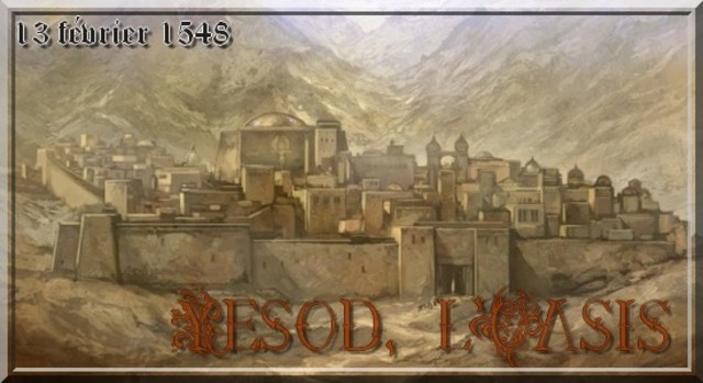 Fondation de Yesod, l'Oasis.