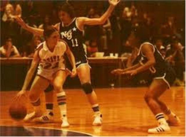 First Women's Professional Basketball League.