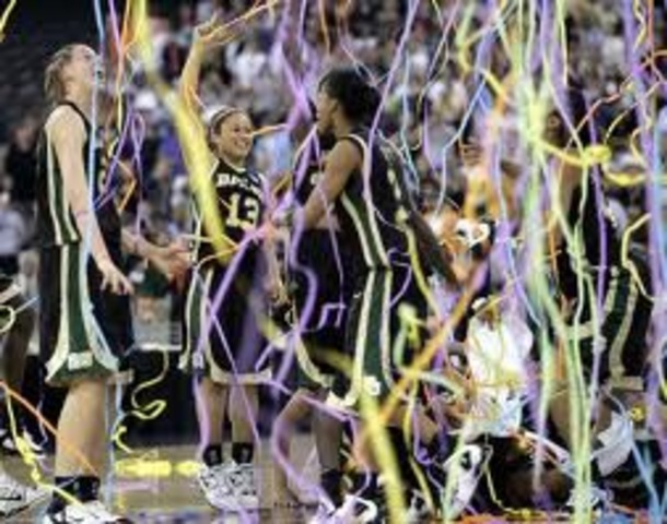 Baylor University defeats Michigan State in RCA dome for NCAA