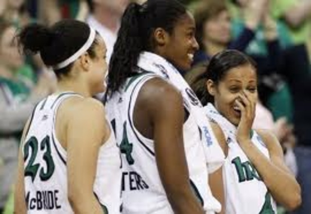 Notre Dame advances to second straight title game after defeating UCONN with OT.