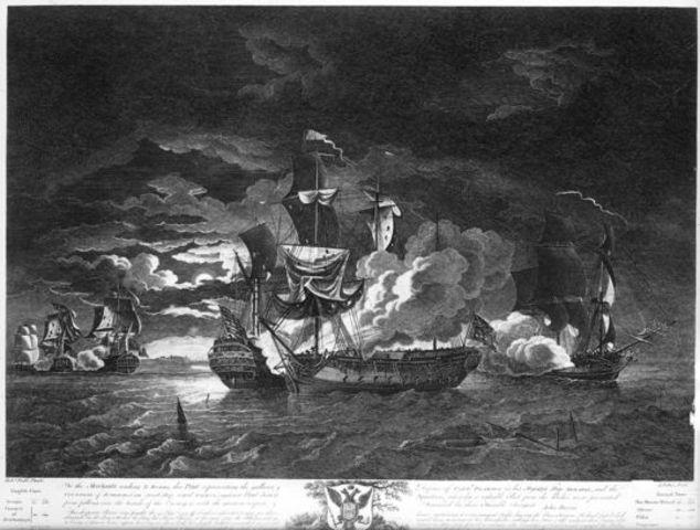 John Paul Jones Captures Serapis