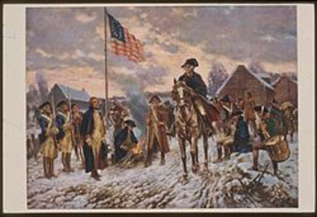 George Washingtons winter at valley forge
