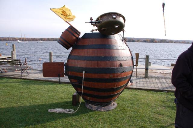 Historys first submarine