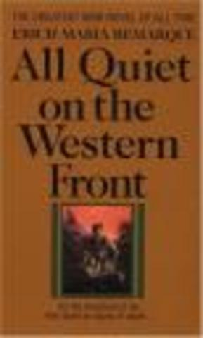 """""""All Quiet on the West Front"""""""