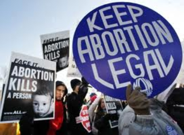 Abortion Legalized in US