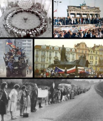 Otoño de las Naciones y caída del Muro de Berlín