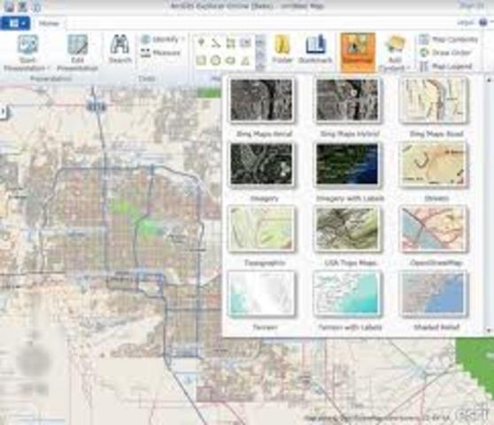 Début collaboration avec société de cartographie