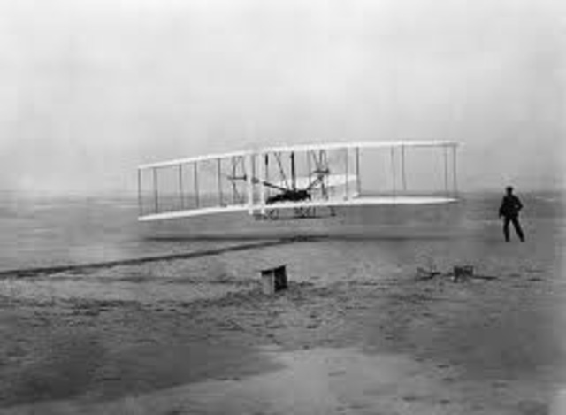 Wright Brothers first successful flight