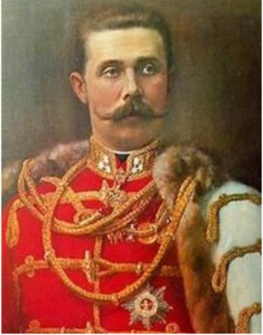 Archduke France  Ferdinand is assigned in Sarajevo