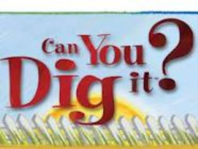 word of the 70's -can you dig it