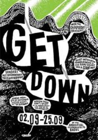 words of the 70's- Get down