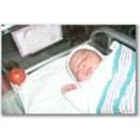 Jacie N. Born at 8:00 am