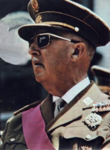 •Francisco Franco dies