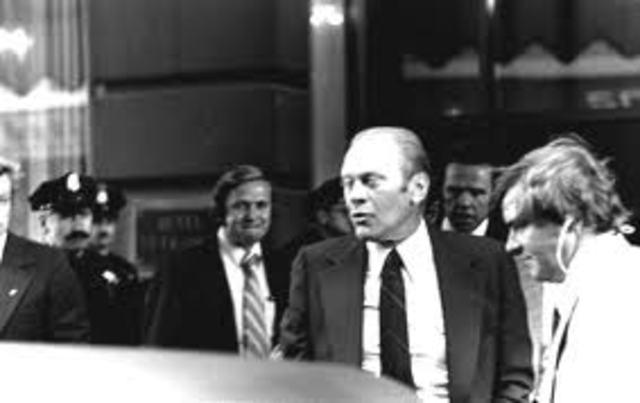 President Ford assationation attempts