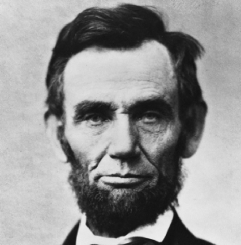Abraham Lincoln takes office