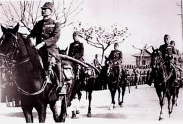 Japan Seizes Manchuria China