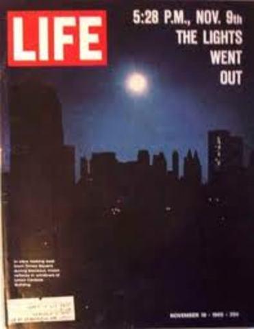 •New York City blackout