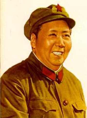 Mao Zedong proclama la República Popular China