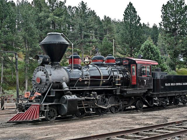 Steam Locomotives Install Passenger Cars