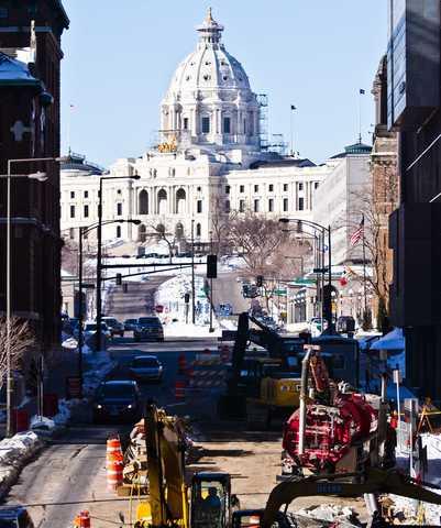 Central Corridor Construction Progress