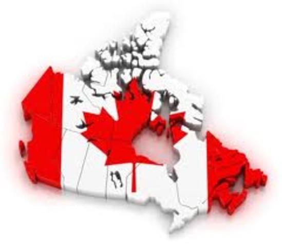 Start of Canada
