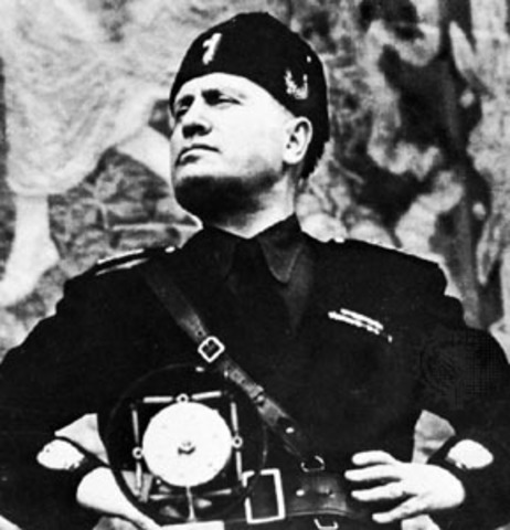 July - Italy surrenders, Mussolini dismissed as Prime Min