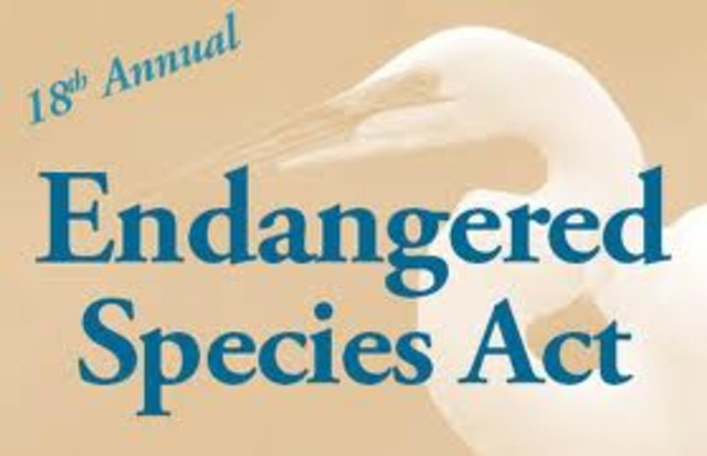 Endagered Species act of 1973